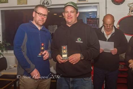 1st Novices - Tom Jefferis & Trevor Yeabsley