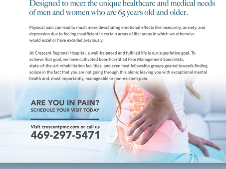 The devastating effects of chronic pain.