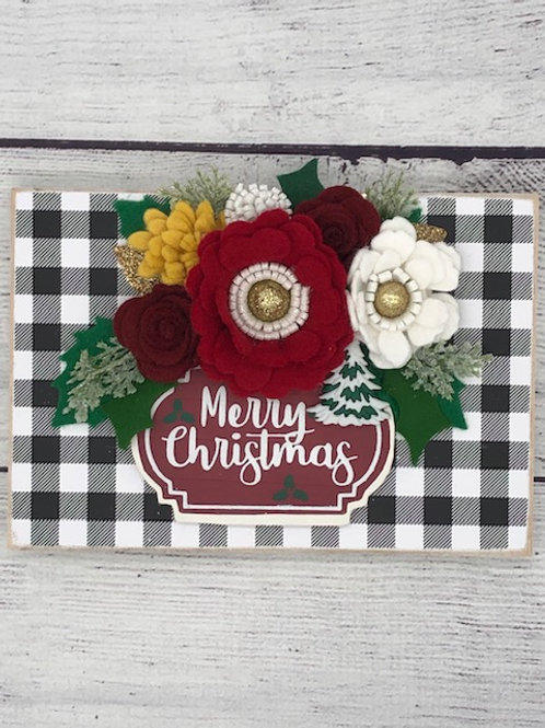 Merry Christmas Shelf Sitter