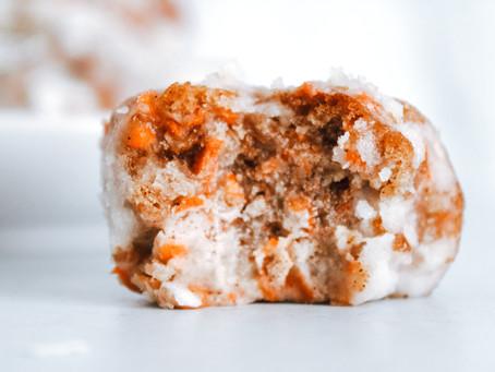 Recipe | Carrot Cake Balls (GF, DF, No Sugar Added Option)