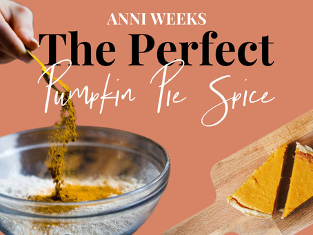 Recipe | The Perfect Pumpkin Pie Spice