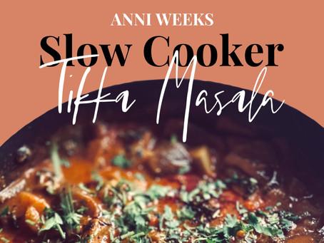 Recipe | Slow Cooker Tikka Masala (Gluten & Dairy Free)