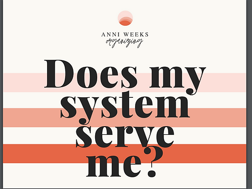 Does my system serve me? (Reference Card)
