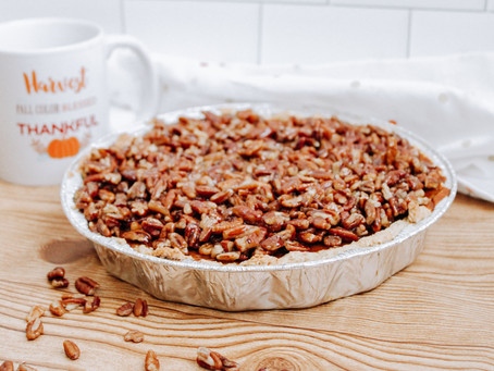 Recipe | Pumpkin Pie with Maple Pecan Crumble (GF, DF, No Sugar Added)