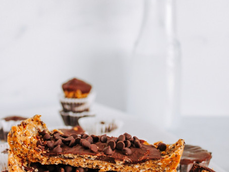 Recipe   Healthy Protein-Packed Peanut Butter Cups (2 Ways!) Gluten Free + Dairy Free
