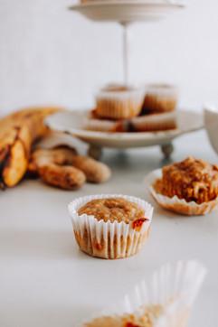 banana nut mini muffins gluten free dair