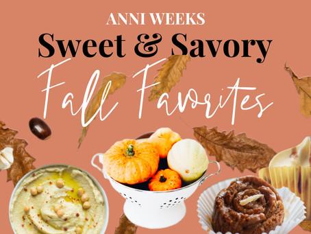 Recipe | Sweet & Savory Fall Favorites