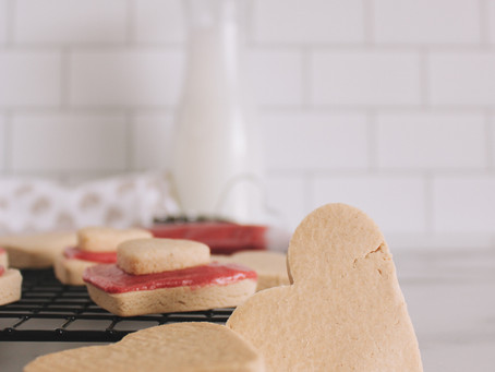 Recipe   No Added Sugar Cookies with Superfruit Frosting (Gluten and Dairy Free)