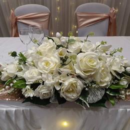 Silk Top Table Floral Arrangement