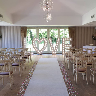 Wedding Venue Styling Nottinghamshire Derbyshire, Sheffield