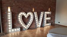 5ft Wedding Letter Hire Nottingham Derbyshire, Sheffield.