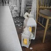 Wedding Aisle Runner and Aisle Lanterns