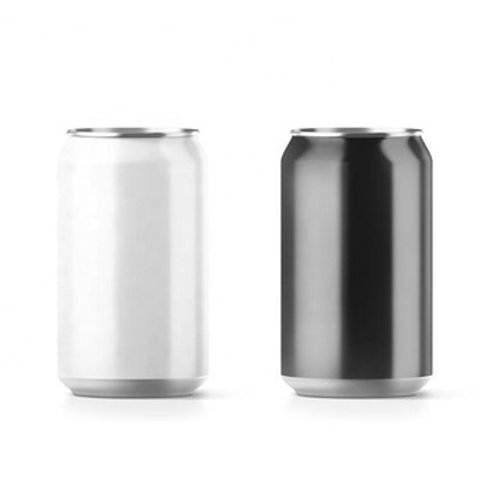 Aluminum beverage cans and pop beer cans