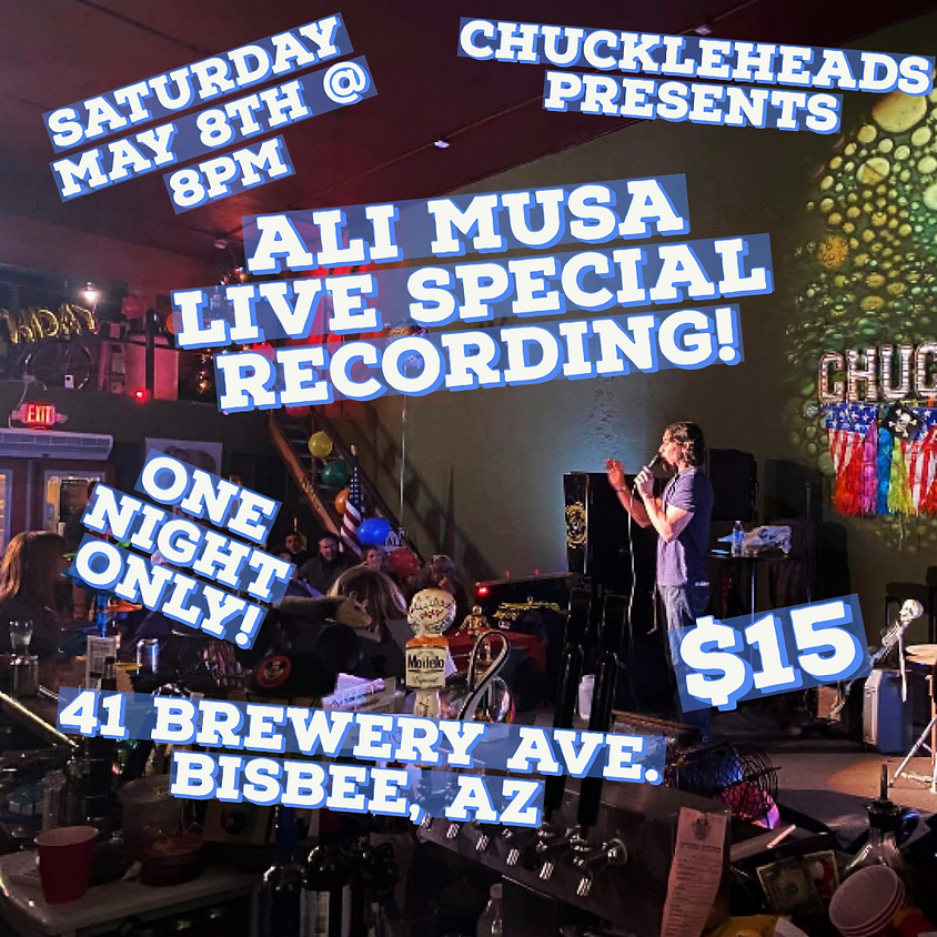 ALI MUSA  LIVE SPECIAL RECORDING!