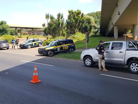 Feriado prolongado tem redução de acidentes nos Campos Gerais