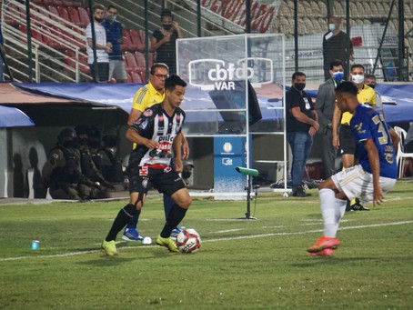 Em jogo polêmico, Operário empata com o Cruzeiro fora de casa