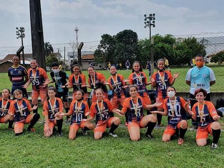 Ponta Grossa fatura o título do futebol feminino do Paraná Bom de Bola