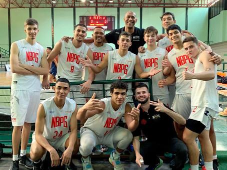 NBPG vence e segue invicto no Brasileiro Sub-19 de basquete