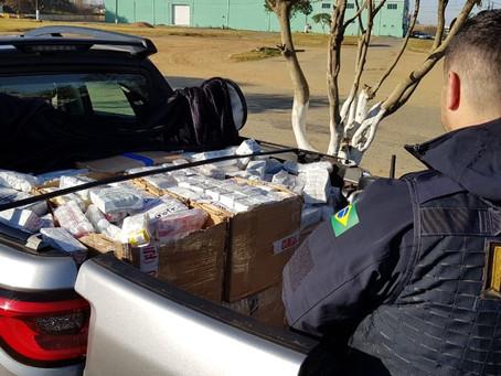Medicamentos contrabandeados são apreendidos na BR-277