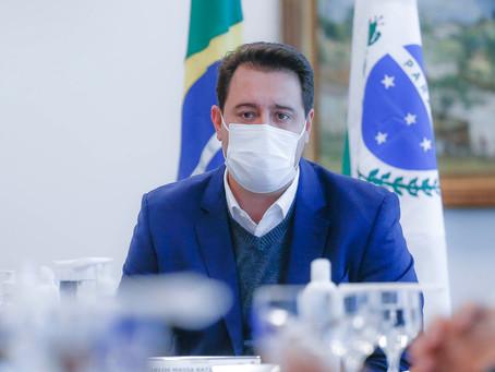 Ratinho Júnior participa de inauguração de Viaduto em Ponta Grossa