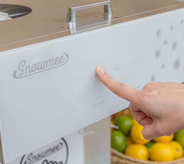 業務用かき氷機スノーミィ,Snowmee,さらさら,ふわふわ,製氷機,クリアバンク