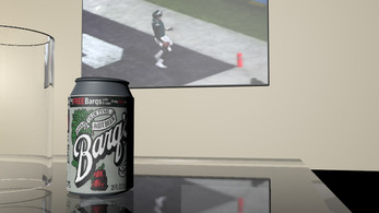 Barq's Root beer ad