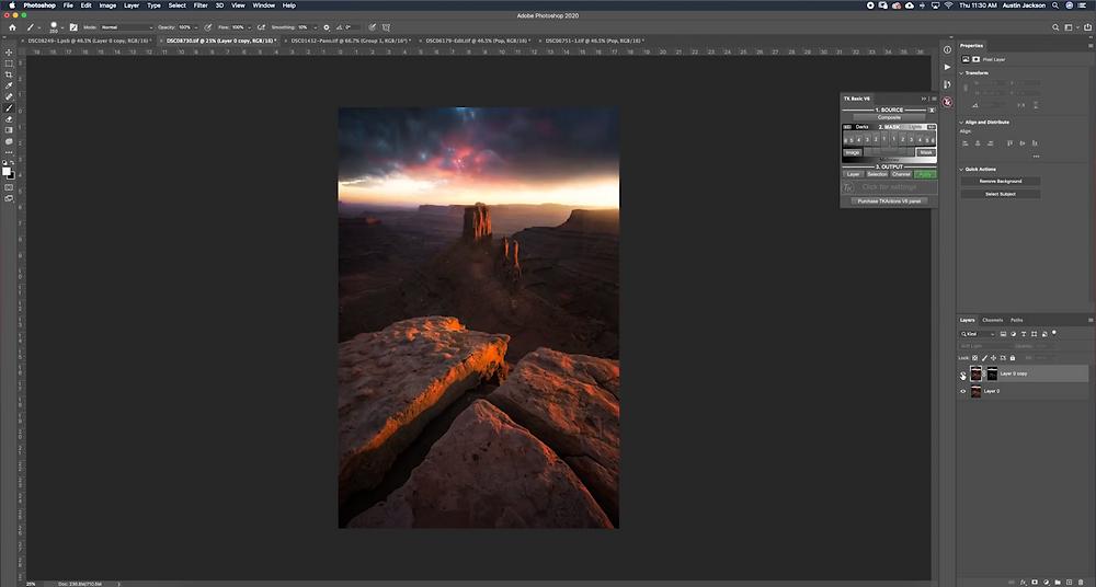 photoshop masterclass for landscape photographers