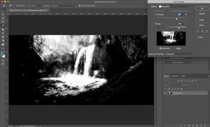 photoshop interface landscape photography
