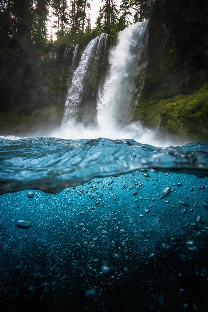 koosah falls landscape photography