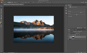 gradient layer mask photoshop tool