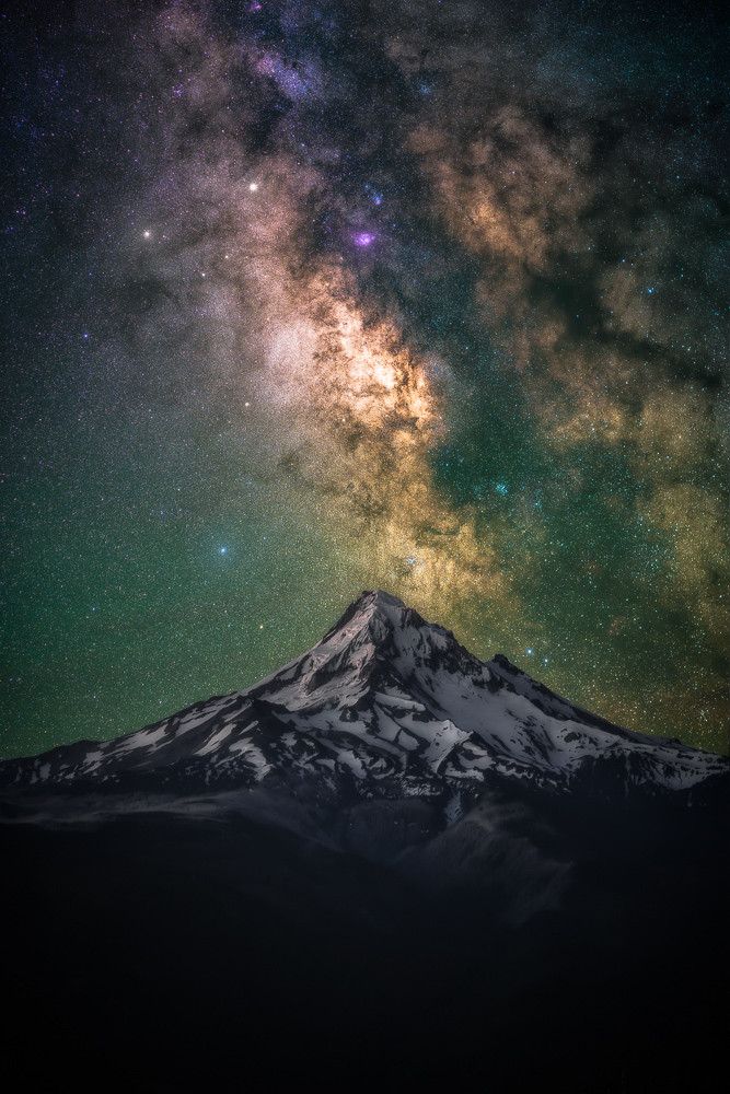 star tracking mt hood