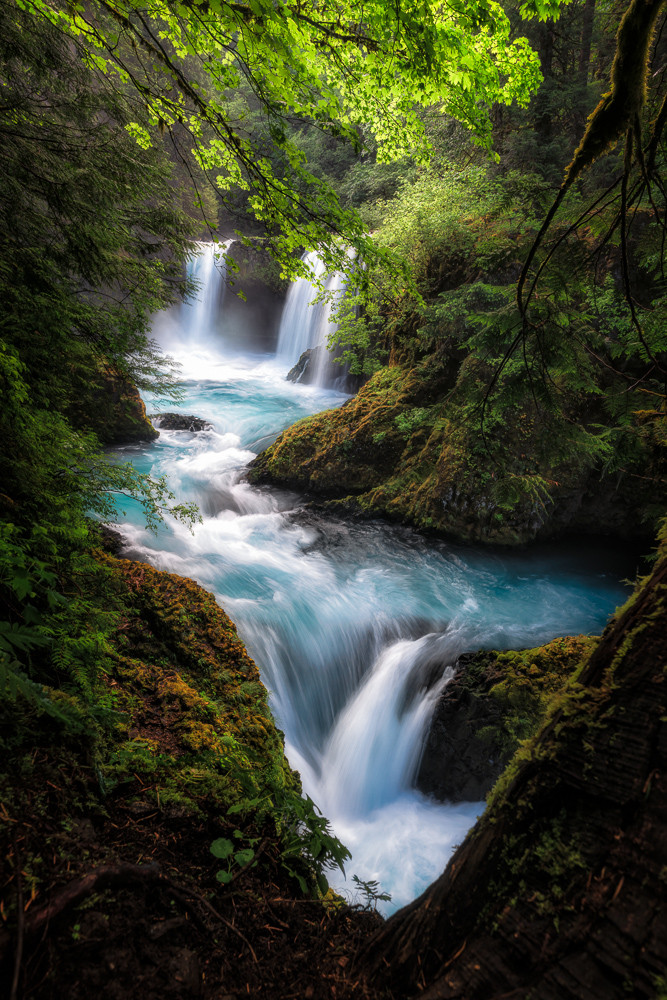 Columbia river gorge waterfall photography