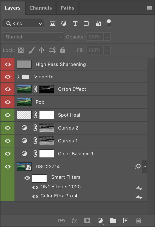 photoshop layers smart object