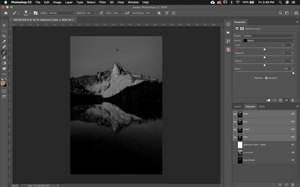 Photoshop layer mask tool
