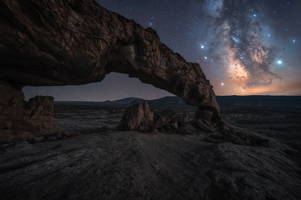 milky way tips utah