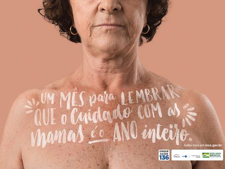 O cuidado com as mamas e o câncer de mama