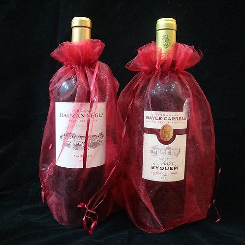 Wine Sleeve - Organza (per piece)
