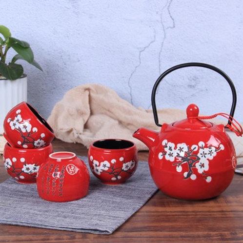 Chinese Tea Set (sakura design)