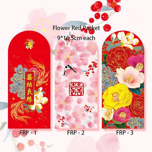 Red Packet Flower Design