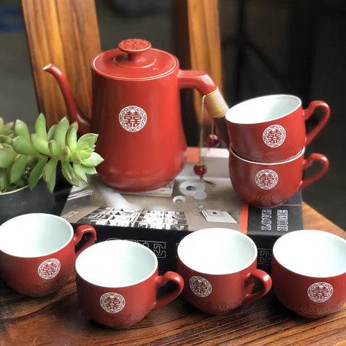 Chinese Tea Set (traditional design)