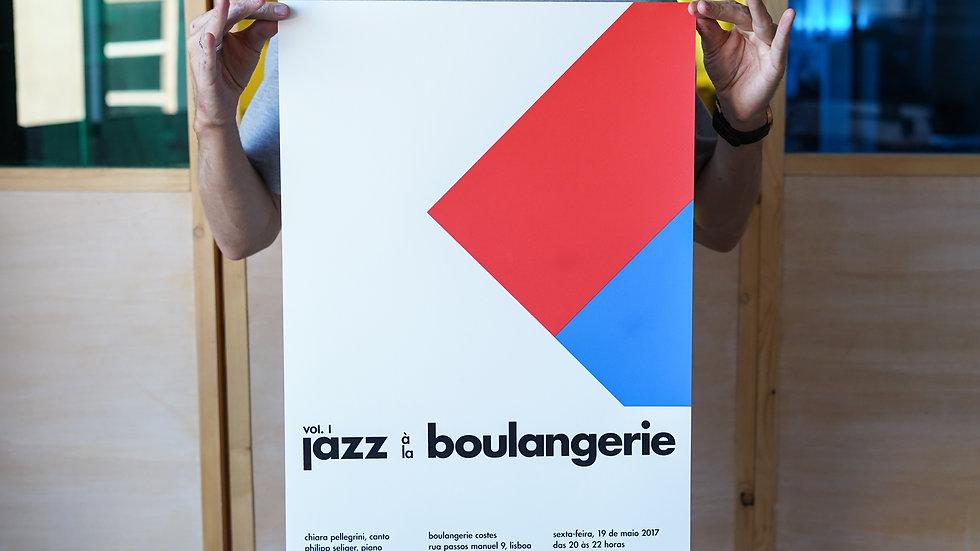 """""""jazz à la boulangerie"""" vol.l Poster"""