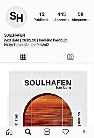Basile Jeandin Soulhafen concert series identity design communication design