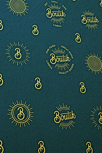 Basil Jeandin | Graphic design Boutik Lisboa Concept store branding visual identity logo logotype