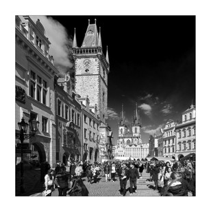 Das alte Prager Rathaus