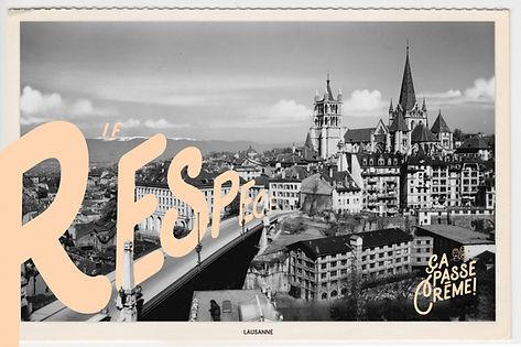 Basile Jeandin | Ça passe crème! specialty coffe shop Lausanne logo logotype branding visual identity communication campaign