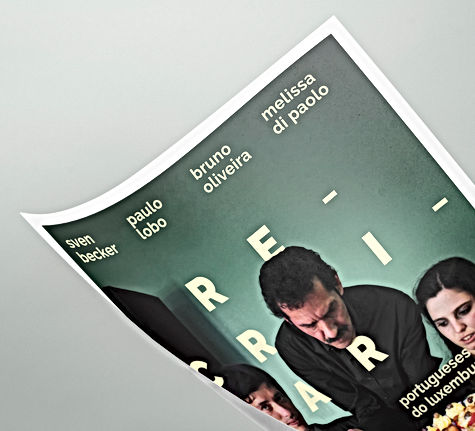 Basile Jeandin | RECRIAR photography exhibition poster