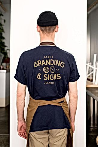 BBB Basile Jeandin Brand Identity Branding Sign Painting