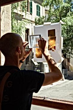 Basile Jeandin |Fine Graphic Design Gelatomania Genève Art Direction Sign Painting Photograph by Mathias Clauson