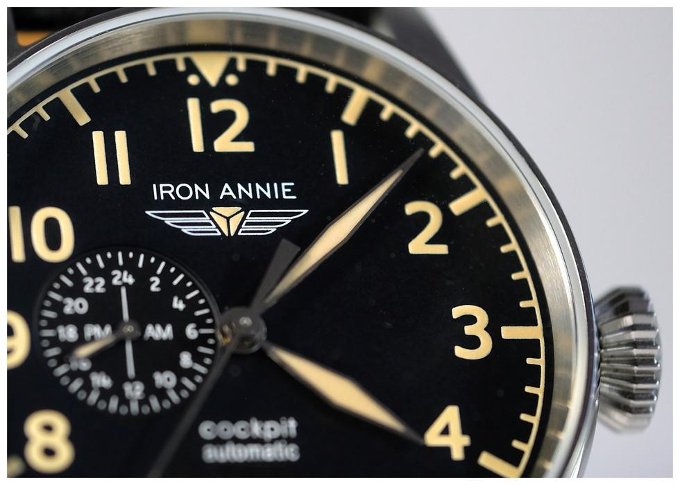 Die Iron Annie (Ju 52) Cockpit