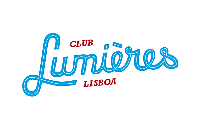 Basile Jeadin |Club Lumières Lisba | Hand lettering